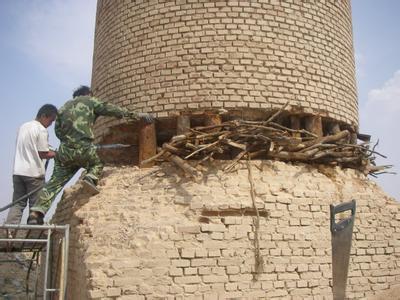 安康砖烟囱拆除公司价格