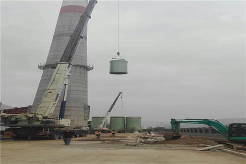 抚州40米砖烟囱拆除公司