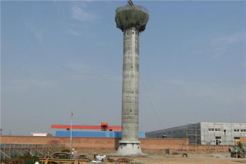 内江20米砖烟囱拆除公司