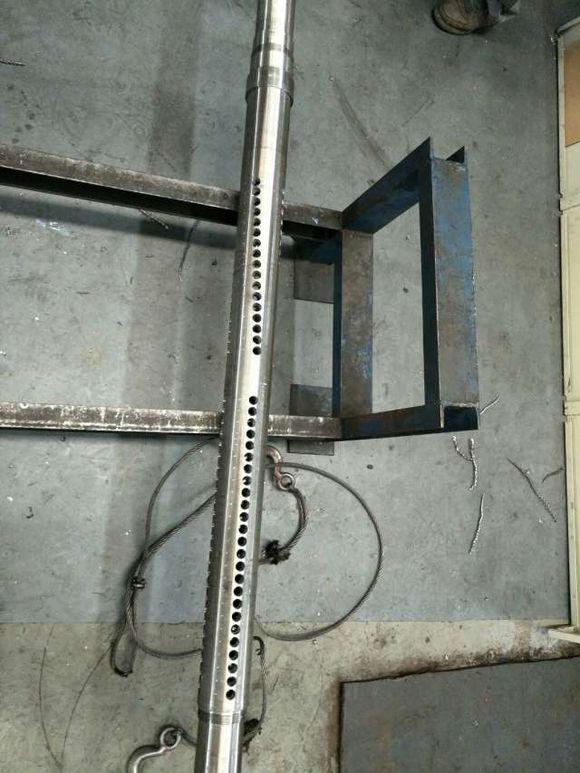 酒泉圆孔式滤水管165mm镀锌滤管厂家