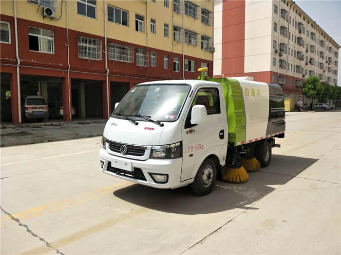 安康国六扫路车水泥厂用清扫车全国送车