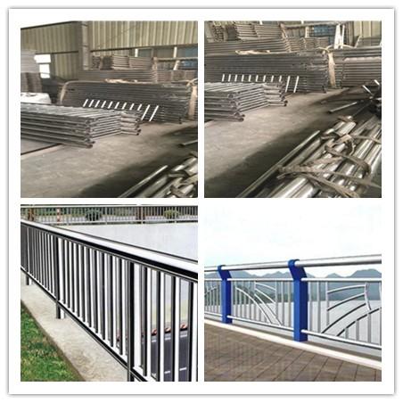 怀化不锈钢复合管道路护栏可以