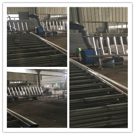 安康河道防护不锈钢栏杆生产