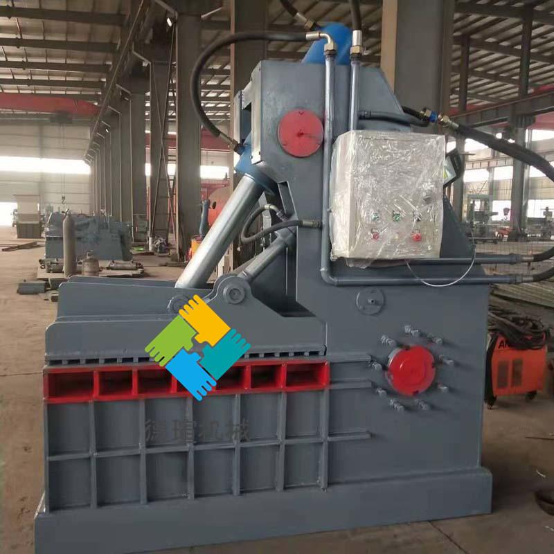 安徽省鳄鱼式废钢剪切机