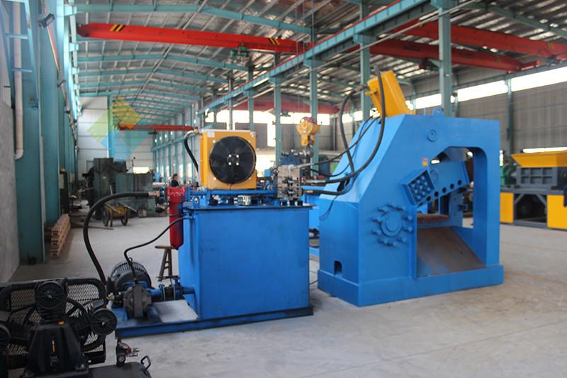 安徽省废钢材剪切机