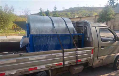 锦州500型小型滚筒酒糟烘干机制造商设备