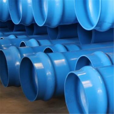 日喀则萨迦PVC-M管材供水用DN400*1