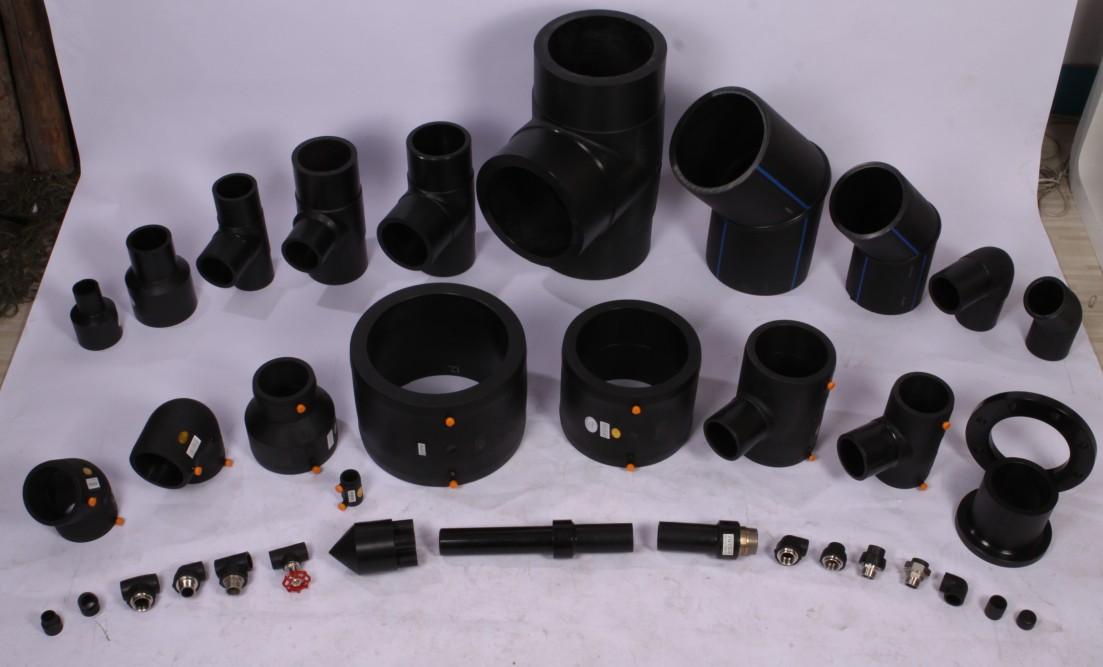 宁德大口径PE弯头管件电熔燃气管件