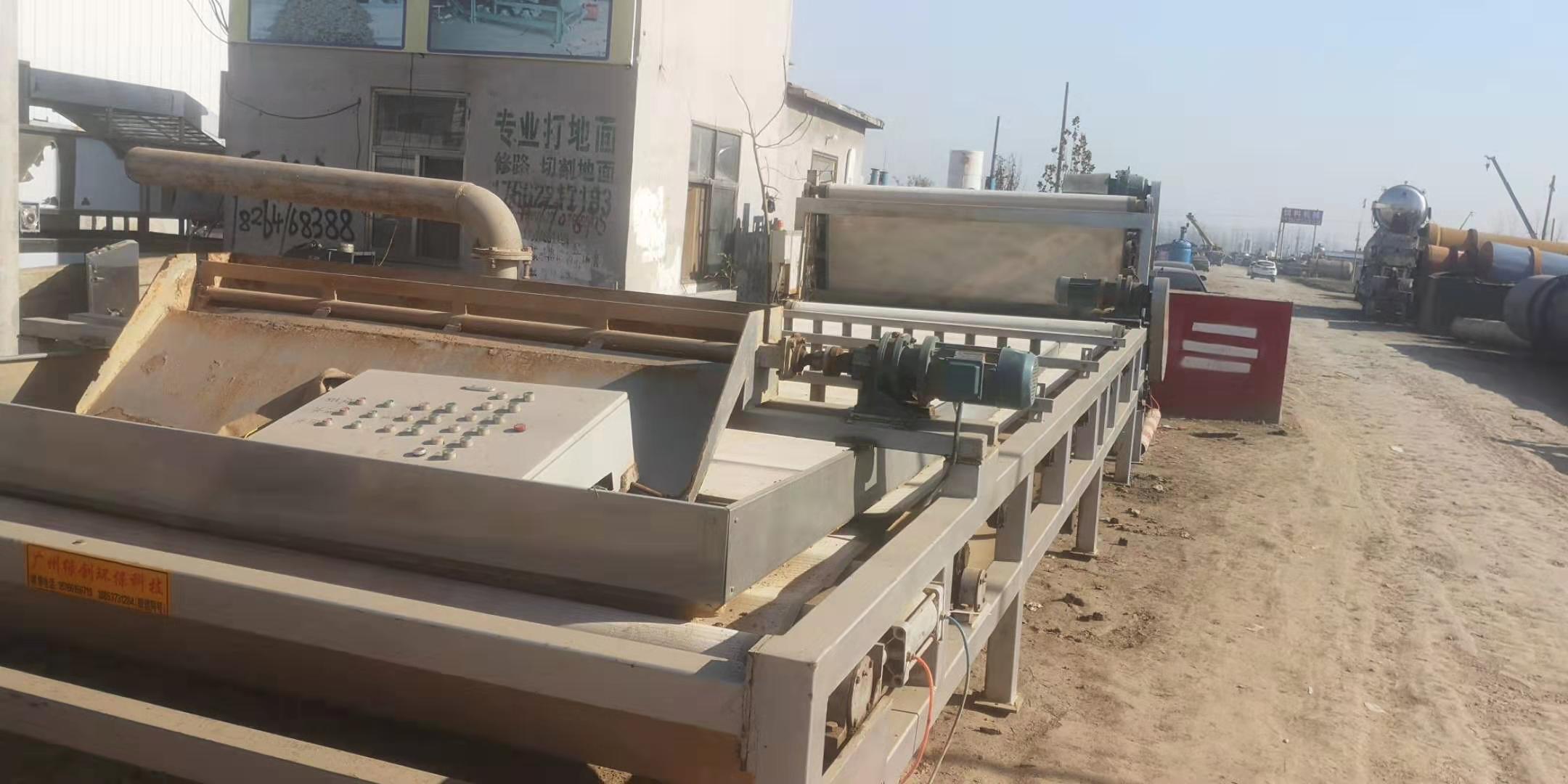 陕西咸阳长武求购30台3米X13.5米带式压滤机购销