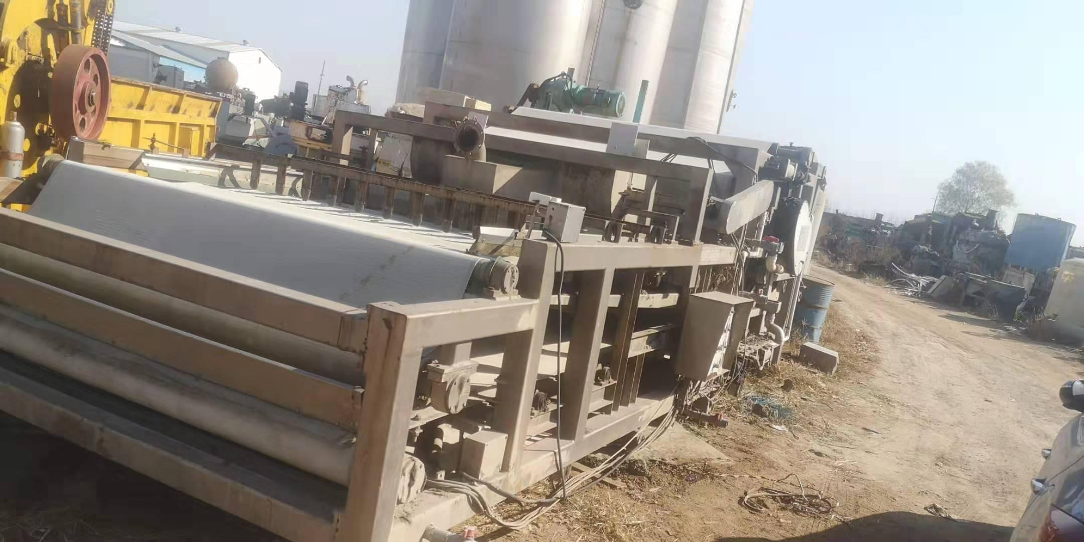 南阳出售30台3米X12米带式压滤机购销