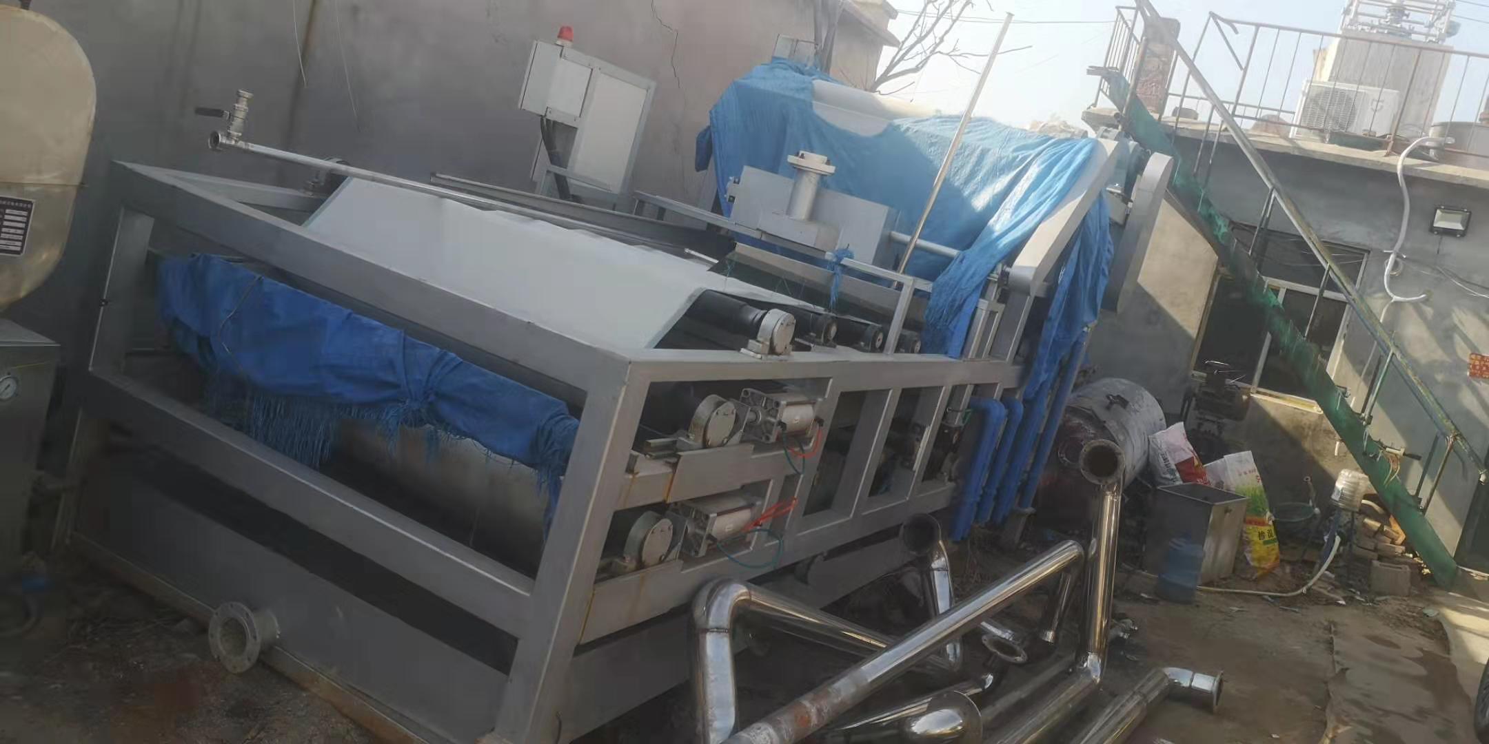 山东济南章丘求购30台1.5米X5米带式压滤机购销