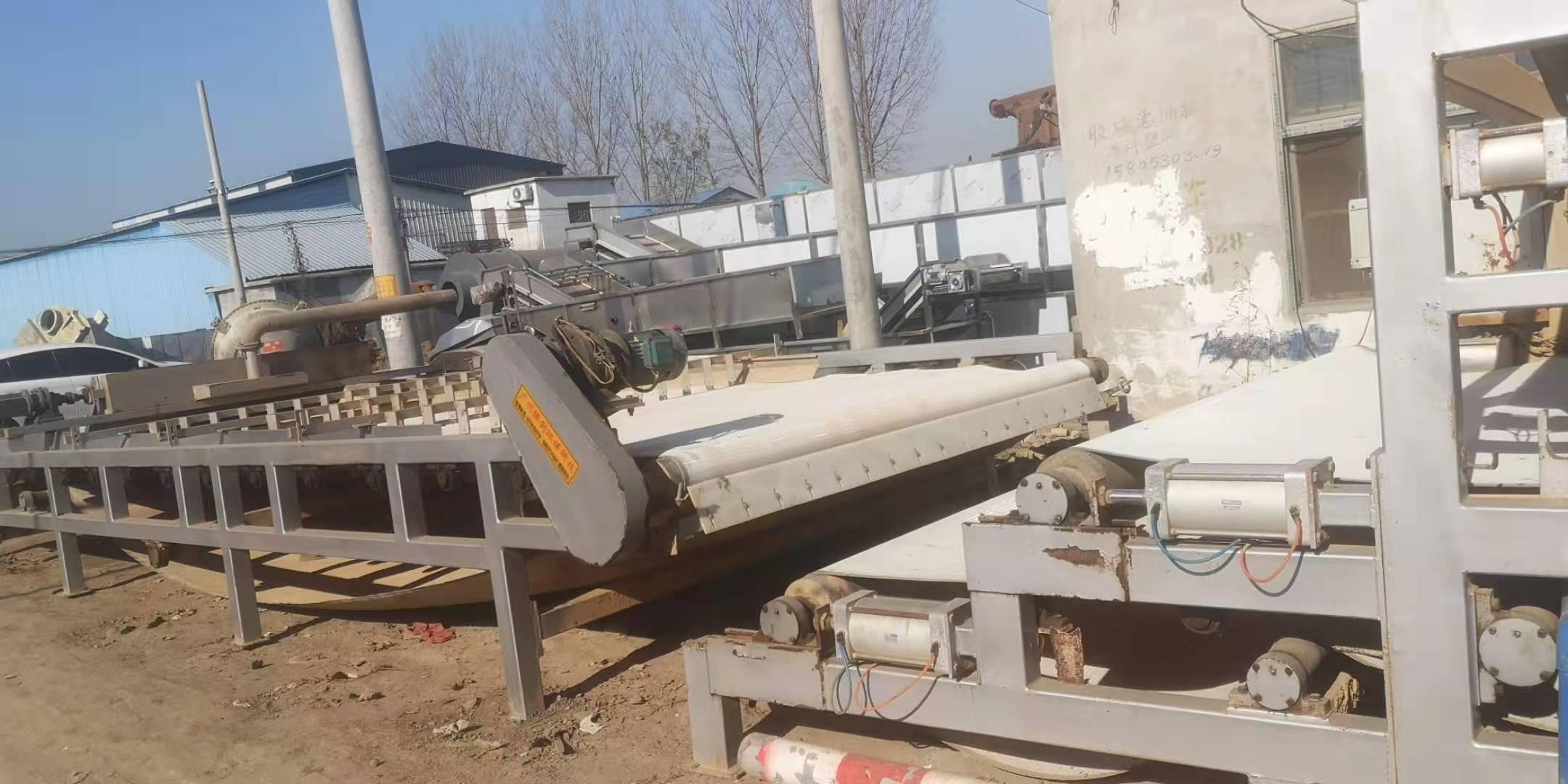 陕西延安延长出售30台3米X13.5米带式压滤机购销
