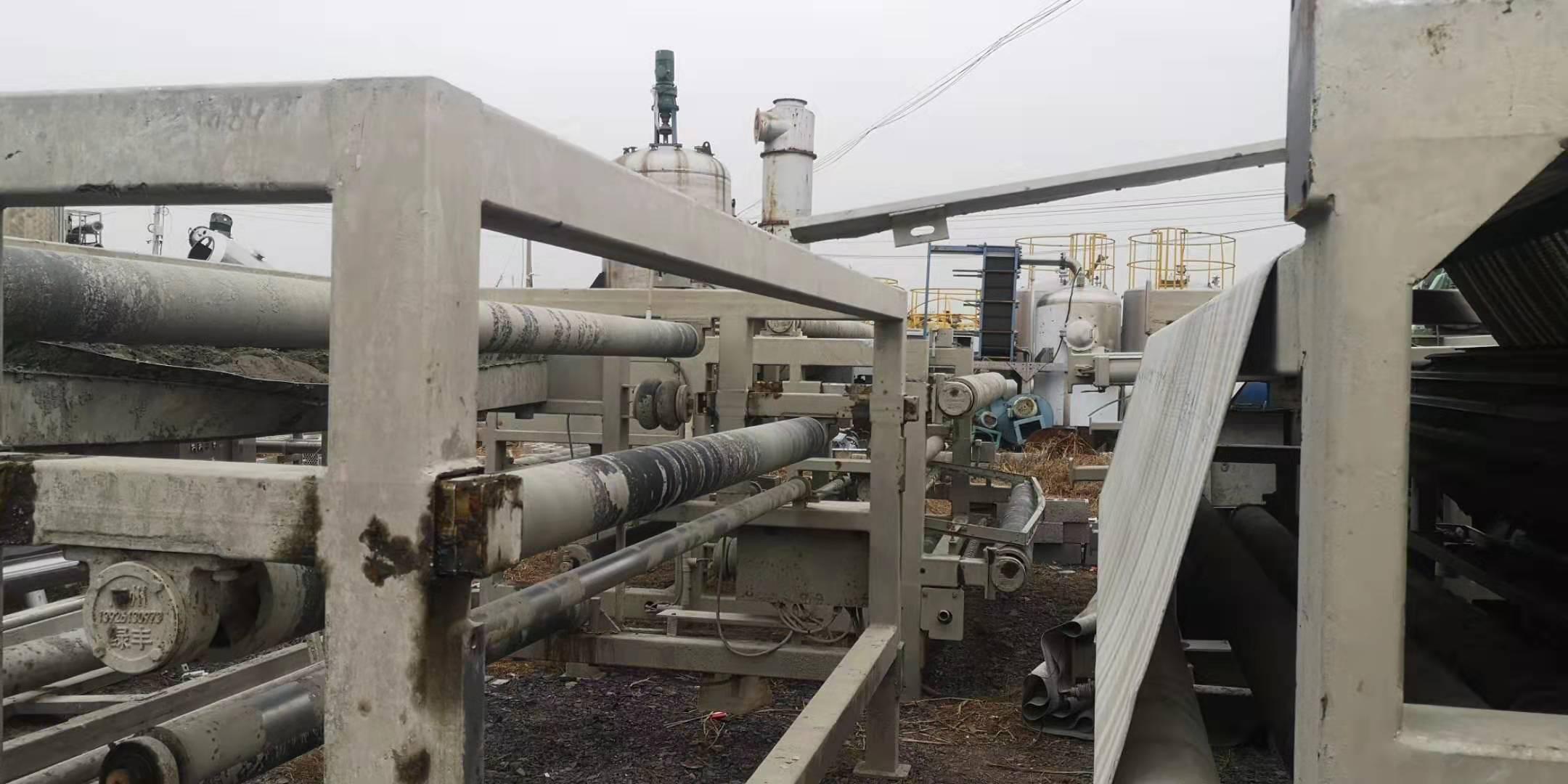 黑龙江黑河嫩江出售九成新1.5米X5米带式压滤机急售