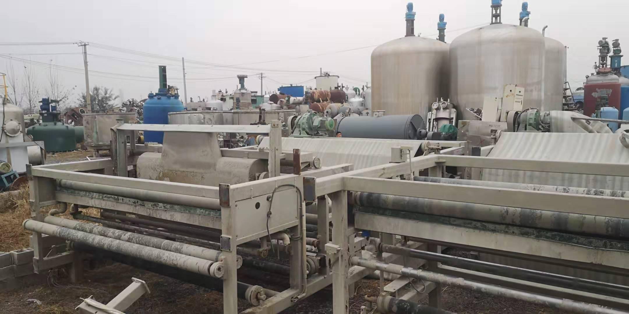 山东济南长清求购30台3米X6米带式压滤机购销