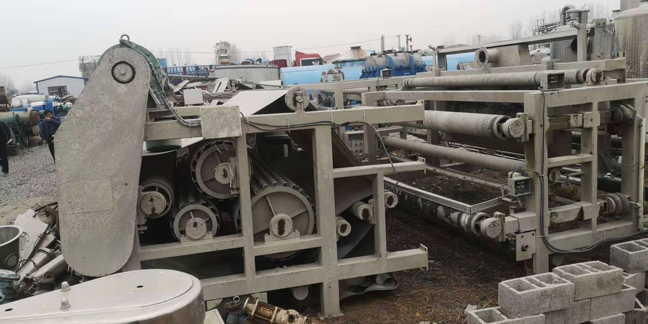 延安出售30台3米X6米带式压滤机购销