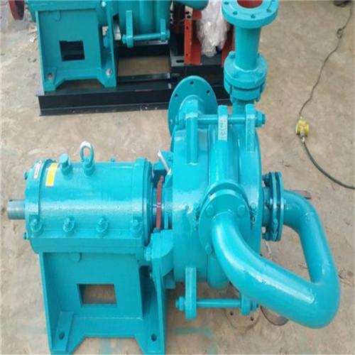 洛阳65SYA100-55压滤机供泥泵现场视频参考