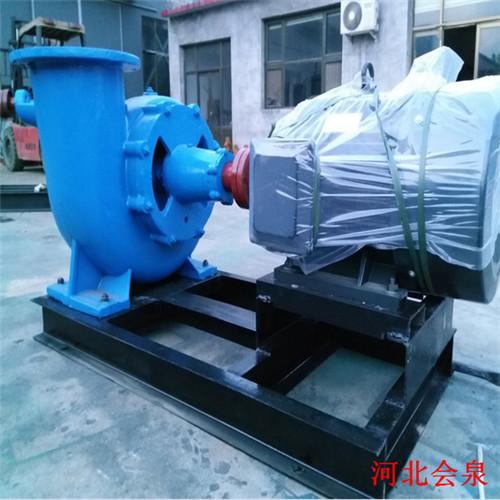 威海300HW-7卧式混流泵@防汛排涝泵视频使用效果