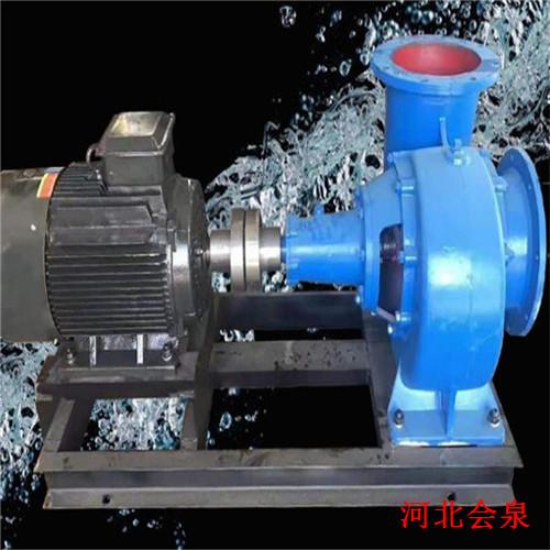 山东150HW-12卧式混流泵@浇水泵通过视频看使用效果
