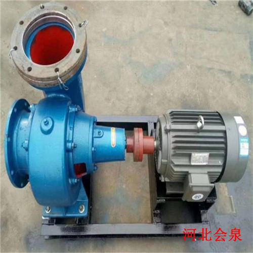 张家界200HW-5混流泵@大流量混流泵视频安装效果