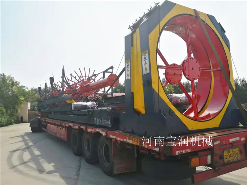 辽宁锦州钢筋笼绕筋机一次成型