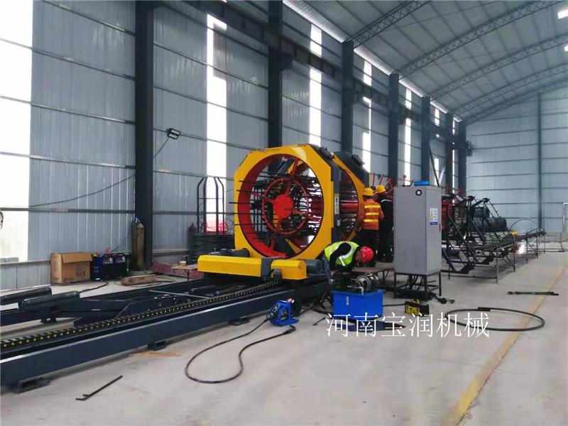 福建莆田钢筋笼绕筋机一台多少钱