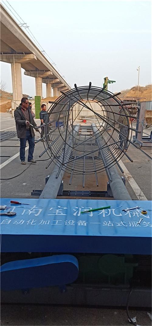 贵州黔西南市钢筋绕筋机厂家供货