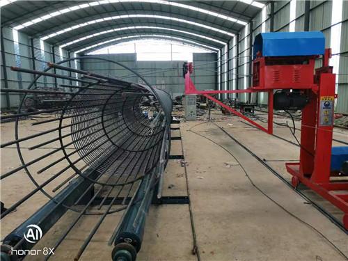 贵州黔西南市钢筋笼绕筋机多少钱