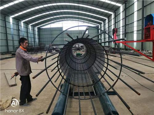 贵州黔西南市钢筋笼盘丝机资讯