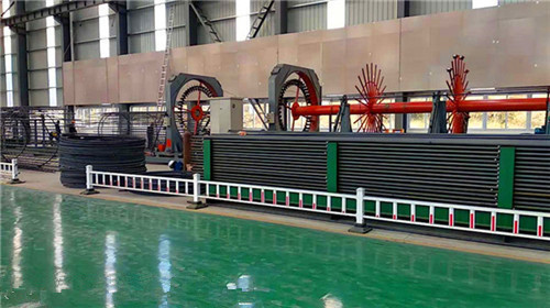 贵州黔西南市钢筋笼盘丝机货源充足