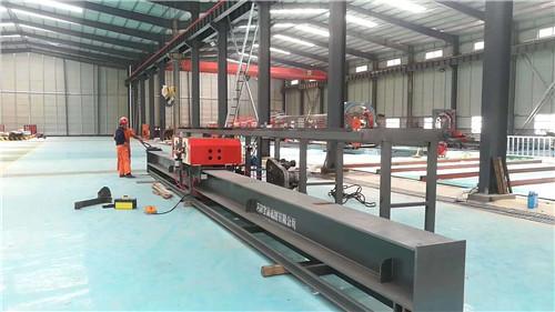河北省沧州黄骅弯曲中心双机头钢筋弯曲中心生产基地