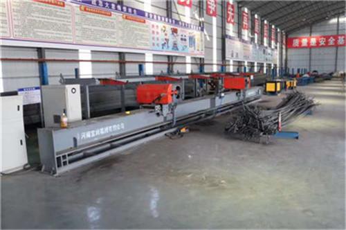 江西省抚州南城双机头弯曲中心25型数控钢筋弯曲中心生产厂家