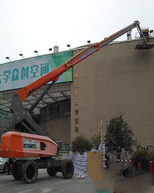 桂林七星自行走升降机租赁_全年无休