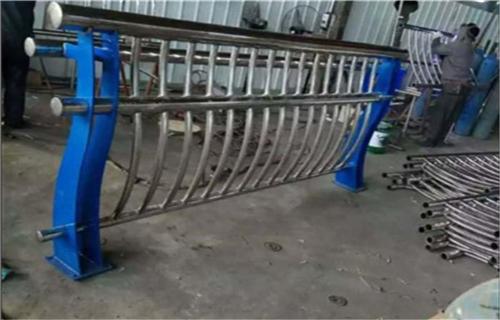 内江河道防护不锈钢栏杆护栏价格