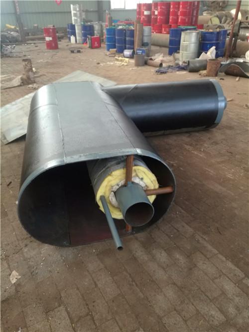 本溪钢套钢直埋预制保温弯头内部构造