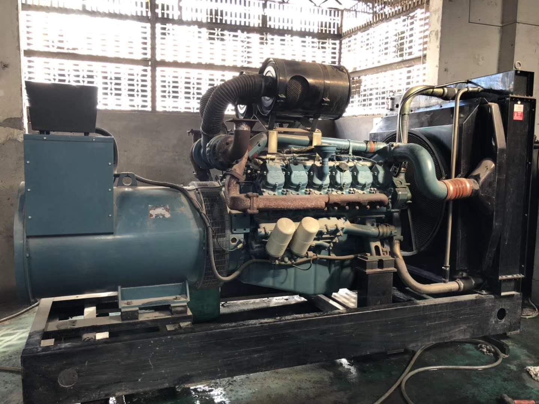 东营出租发电机进口设备