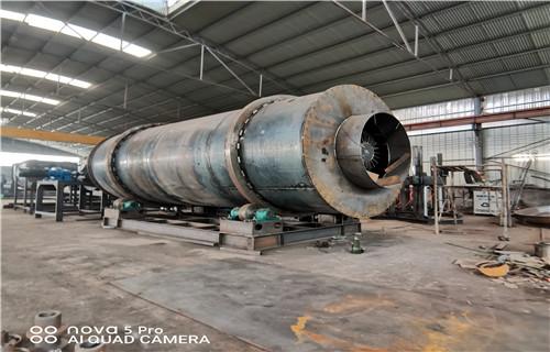 天津河沙烘干机全自动生产线