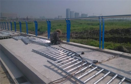 惠州桥梁立柱不锈钢复合管护栏扶手