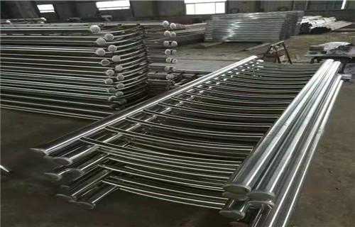 新余不锈钢护栏桥梁不锈钢复合管材料