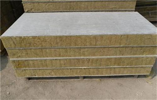 平顶山岩棉复合板 憎水岩棉板厂家生产