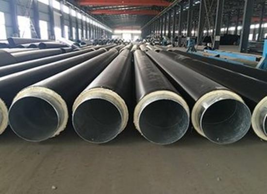 十堰钢套管聚氨酯发泡保温钢管每米价格