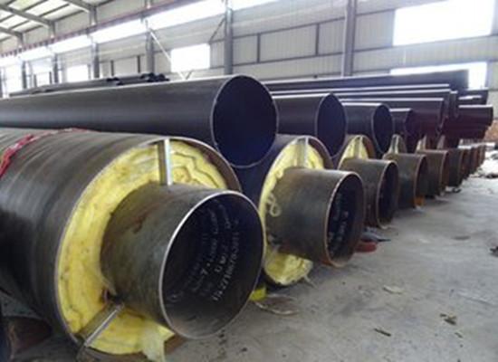 红河热力直埋预制保温管厂家报价