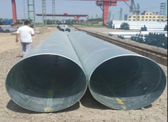 河源自来水输送管道防腐螺旋埋弧焊钢管制造厂家