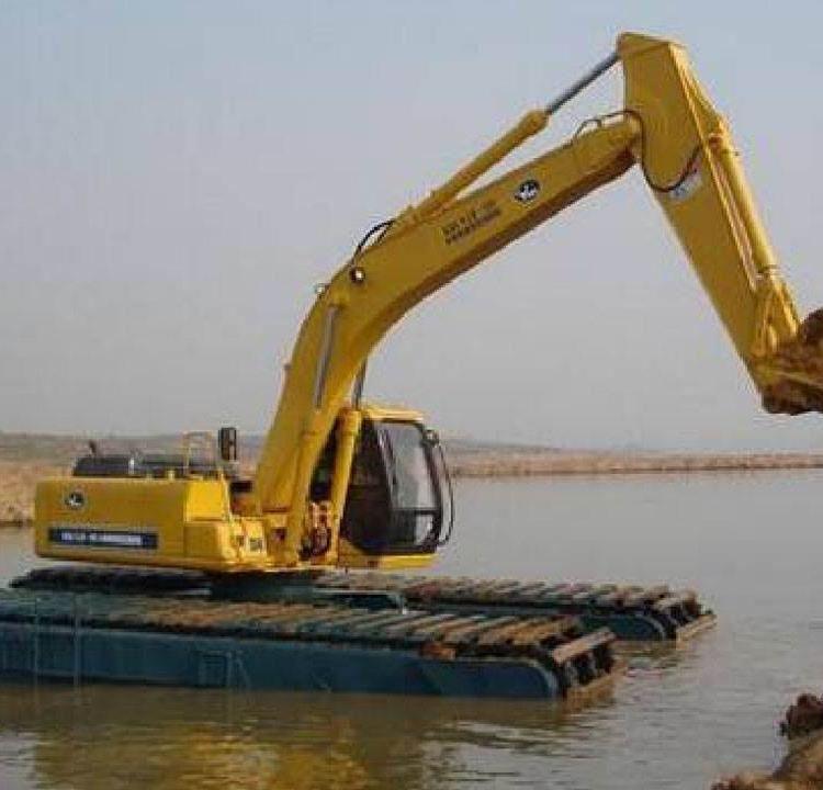 辽宁省本溪市溪湖区水上挖掘机出租认准神屹水利