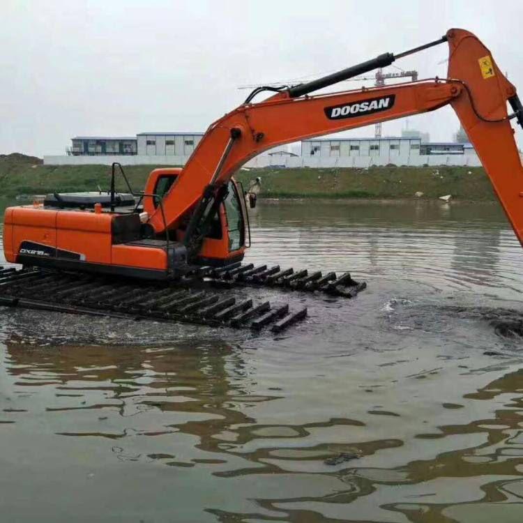 陕西省安康市沼泽地治理挖掘机出租挖水库