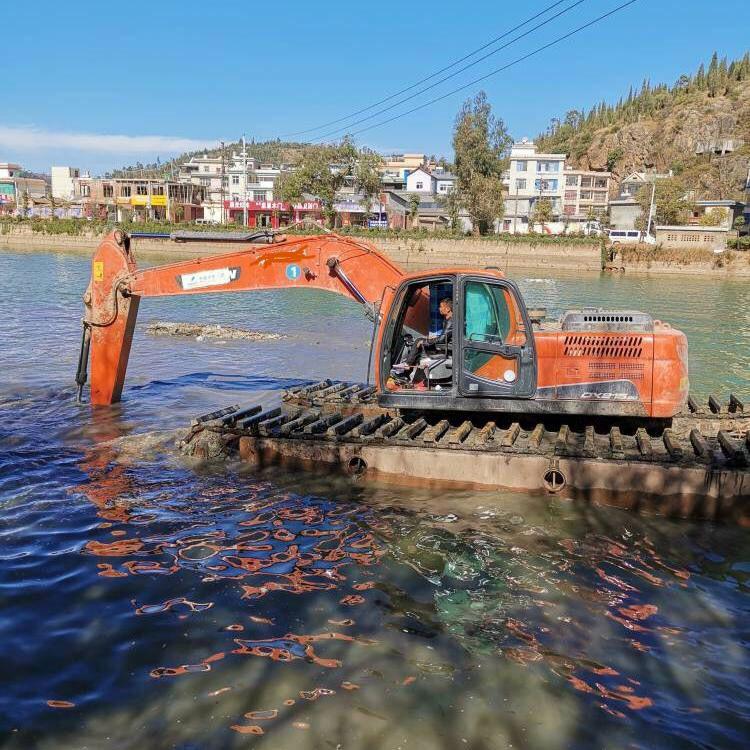 辽宁省本溪市南芬区水上挖掘机出租租赁品质保证