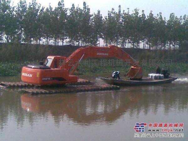 辽宁省本溪市明山区水上挖掘机租赁价格实惠