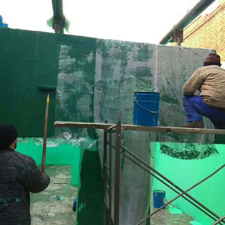 湖南省怀化市环氧玻璃鳞片胶泥防腐衬里
