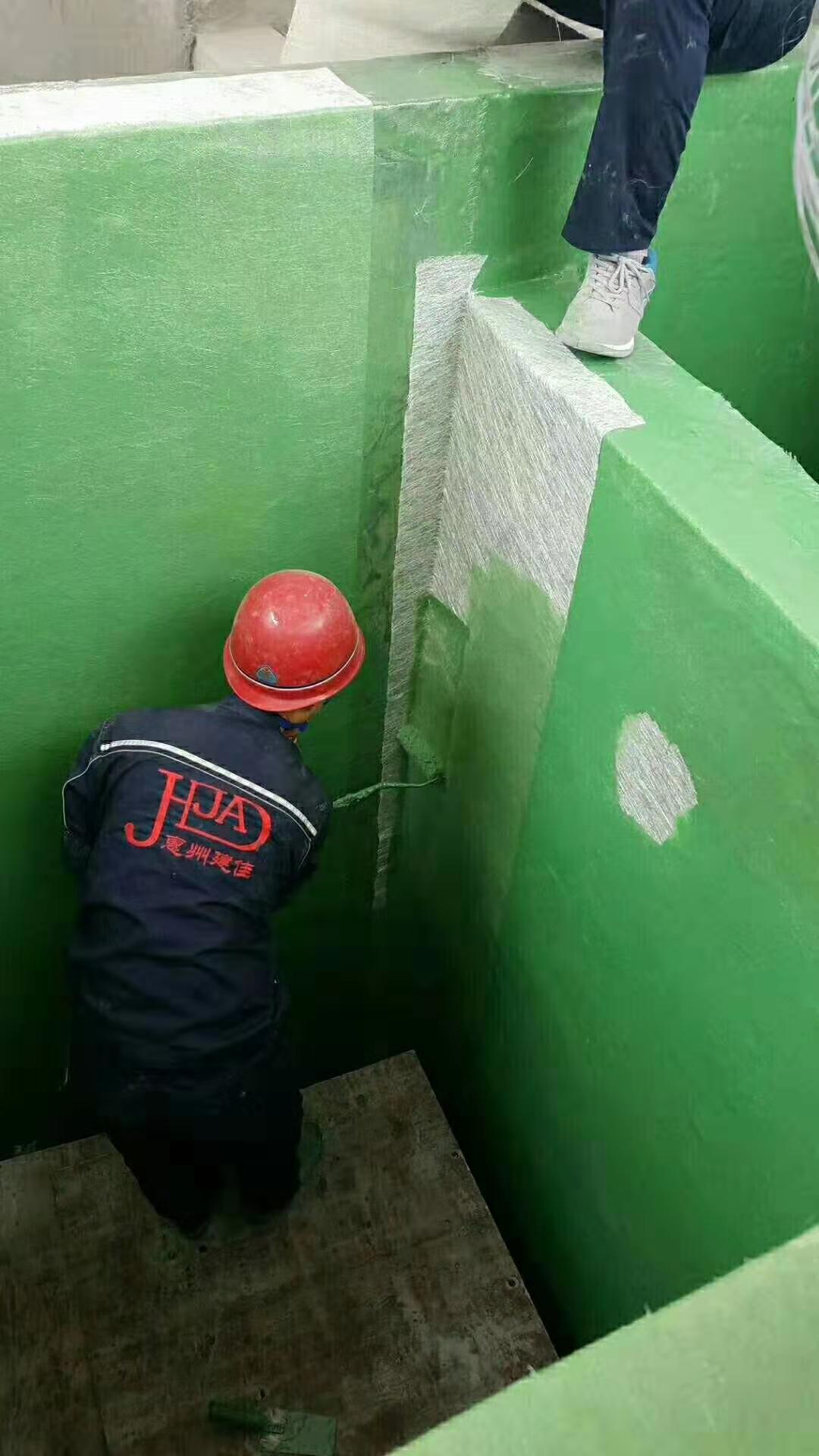 安徽省环氧玻璃鳞片胶泥 污水池防腐