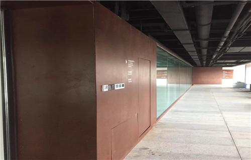 鹤壁园林耐候钢板装饰景观加工厂