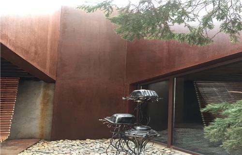 长春华建耐候钢板园林景观定制厂家